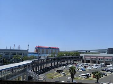行き方・アクセス(金城ふ頭駅からの光景2)