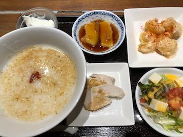 粥粥ランチセット(1)