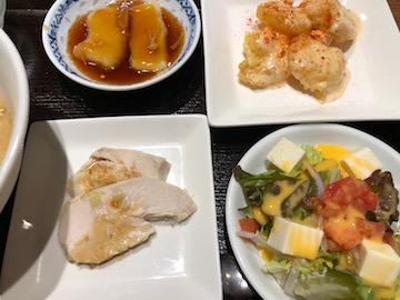 粥粥ランチセット(3)
