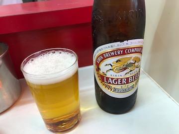 キリンラガーの瓶ビール