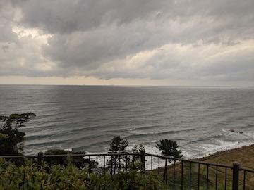 日本海の光景