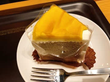 スイートポテトのシフォンケーキ(1)
