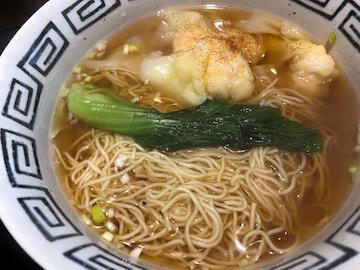 麻婆丼とエビワンタン麺(3)