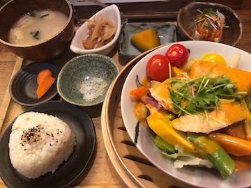 温野菜サラダランチ(1)