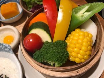 蒸し野菜ランチ(3)