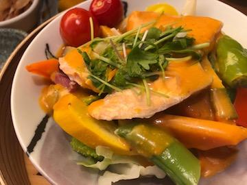 温野菜サラダランチ(3)