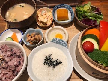 蒸し野菜ランチ(1)