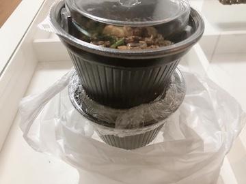 台湾汁無麺と水餃子(1)