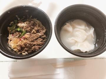 台湾汁無麺と水餃子(2)
