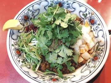 カレー坦々麺(1)
