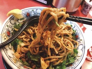 カレー坦々麺(2)