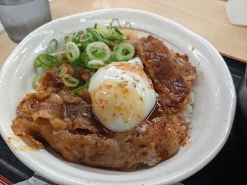 旨辛焼き牛めし(丼)