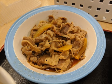 豚焼肉牛皿コンビ(2)