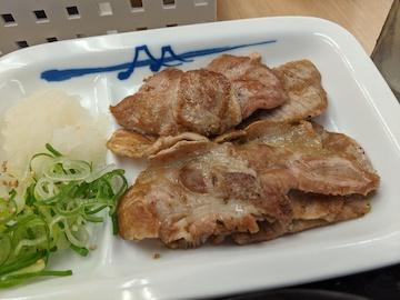 豚焼肉牛皿コンビ(1)