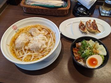 豚ワンタン麺(1)