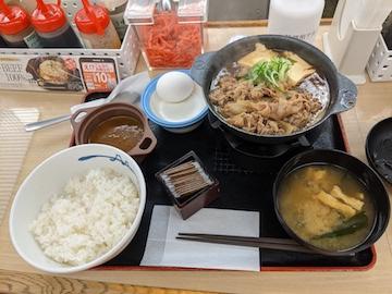 牛鍋膳カレー(全体図)