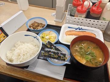 焼鮭定食(1)