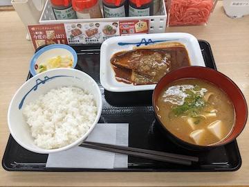 さばの味噌煮込定食(2)