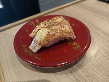 生サーモン黒胡椒炙り(2)