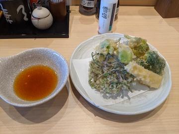 春野菜天ぷら盛り合わせ