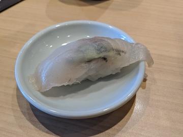 旬の彩り八貫盛り(昆布〆桜鯛」)