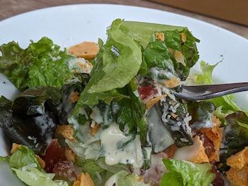 カリカリチェダーのシーザーサラダ(実食)