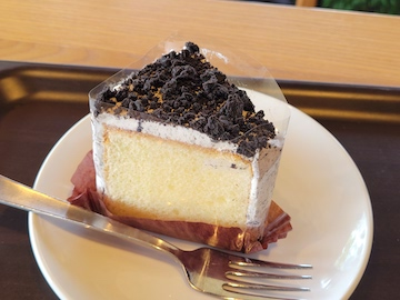 クッキー&クリームシフォンケーキ(全体)