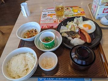 よりどりバランス朝定食(1)