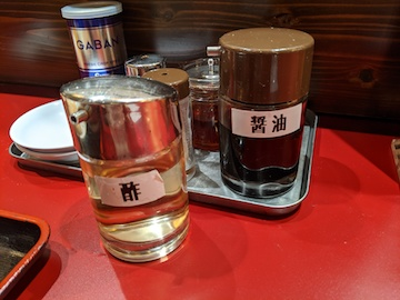 焼餃子・支那そば定食(10)