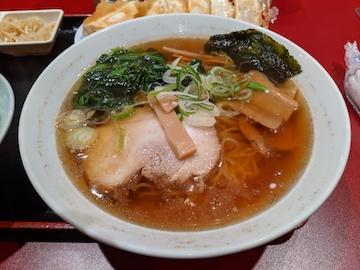 焼餃子・支那そば定食(4)