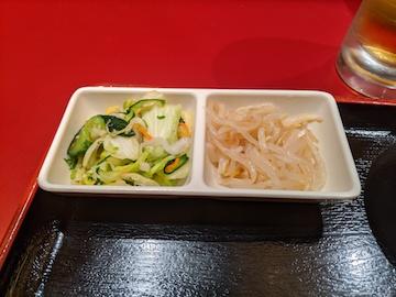 焼餃子・支那そば定食(6)