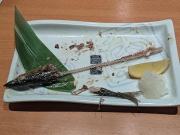 塩サンマの塩焼き(2)