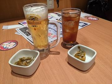 生ビールなど