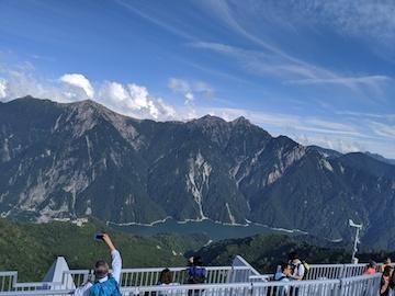 大観峰の屋上からの景色(1)