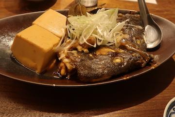 ハタと豆腐の煮付け(1)