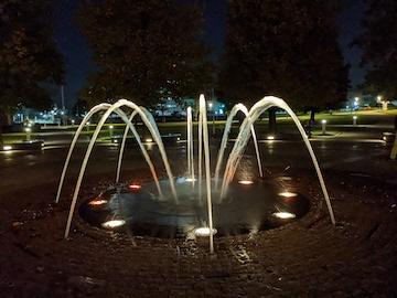富岩運河環水公園の夜(9)