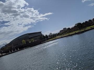 富岩運河環水公園の昼(3)