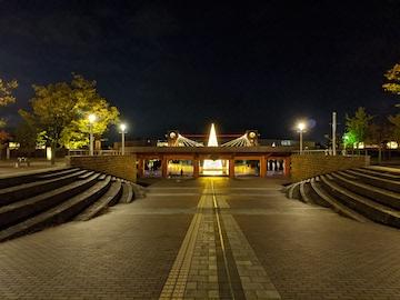 富岩運河環水公園の夜(1)