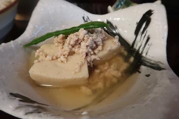 けやきランチ(高野豆腐そぼろ煮)