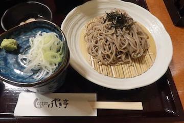 ミニ海鮮丼とそばのセット(ざる蕎麦1)