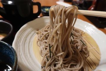 ミニ海鮮丼とそばのセット(ざる蕎麦2)