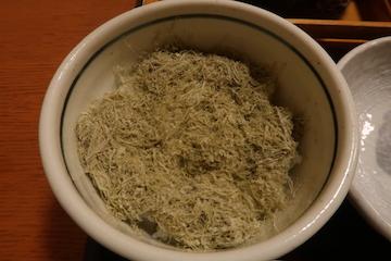 かきあげそばと昆布飯のセット(昆布飯1)