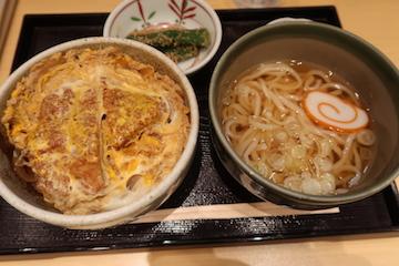 ミニかつ丼セット(1)
