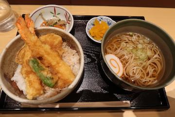 ミニ天丼セット(1)