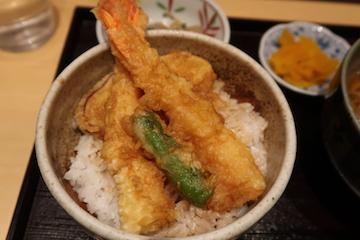 ミニ天丼セット(3)