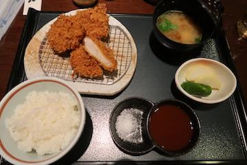 国産特選ヒレカツ膳(1)