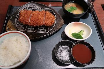 チーズ入りミルフィーユカツ膳(1)