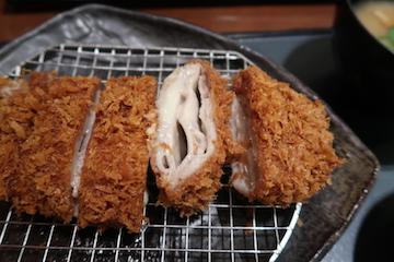 チーズ入りミルフィーユカツ膳(2)