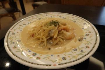 シーフード味噌クリームパスタ(1)
