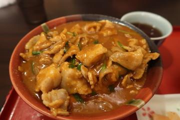 豚丼カレー(2)